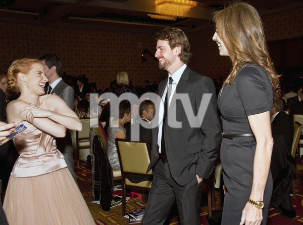 """2013 Writers Guild Awards"" Kathryn Bigelow, Jessica Chastain, Mark Boal02-17-2013 / JW Marriott Hotel / Los Angeles, CA © 2013 Michael Jones - Image 24263_0017"