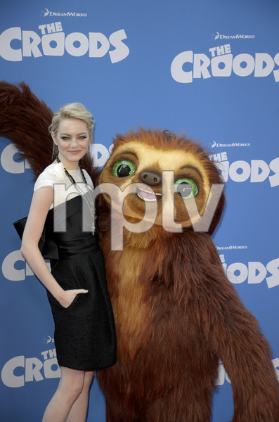 """""""The Croods"""" Premiere Emma Stone 3-10-2013 / AMC Loews Lincoln Square Theater / New York NY / Dreamworks / Photo by Eric Reichbaum - Image 24266_149"""