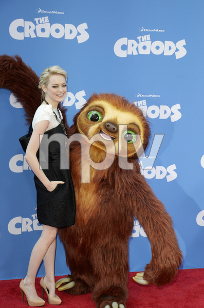 """""""The Croods"""" Premiere Emma Stone 3-10-2013 / AMC Loews Lincoln Square Theater / New York NY / Dreamworks / Photo by Eric Reichbaum - Image 24266_150"""