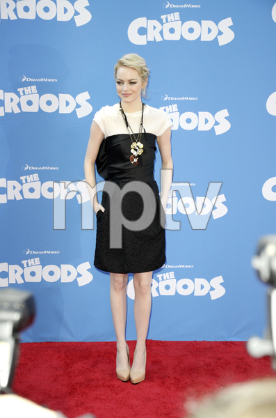 """The Croods"" Premiere Emma Stone 3-10-2013 / AMC Loews Lincoln Square Theater / New York NY / Dreamworks / Photo by Eric Reichbaum - Image 24266_159"