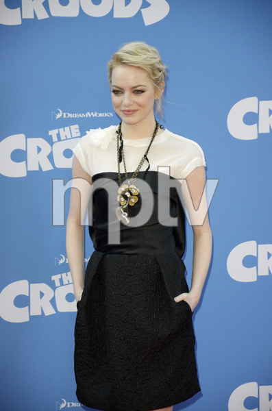 """""""The Croods"""" Premiere Emma Stone 3-10-2013 / AMC Loews Lincoln Square Theater / New York NY / Dreamworks / Photo by Eric Reichbaum - Image 24266_166"""