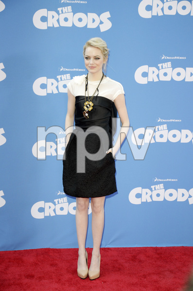 """""""The Croods"""" Premiere Emma Stone 3-10-2013 / AMC Loews Lincoln Square Theater / New York NY / Dreamworks / Photo by Eric Reichbaum - Image 24266_167"""