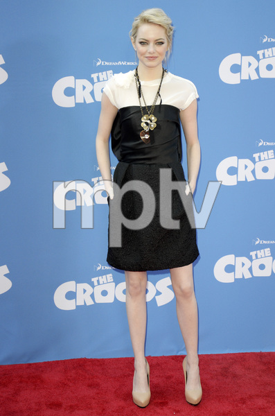 """""""The Croods"""" Premiere Emma Stone 3-10-2013 / AMC Loews Lincoln Square Theater / New York NY / Dreamworks / Photo by Eric Reichbaum - Image 24266_168"""