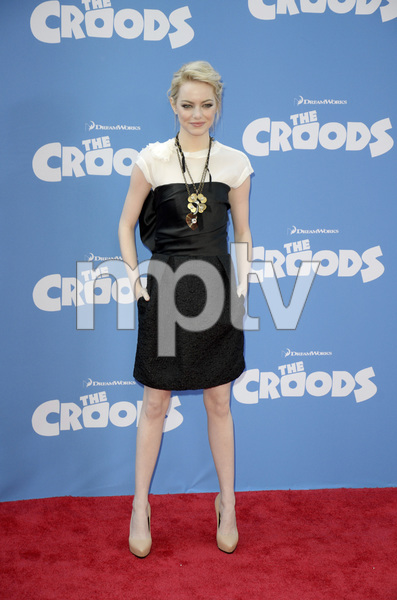 """""""The Croods"""" Premiere Emma Stone 3-10-2013 / AMC Loews Lincoln Square Theater / New York NY / Dreamworks / Photo by Eric Reichbaum - Image 24266_169"""