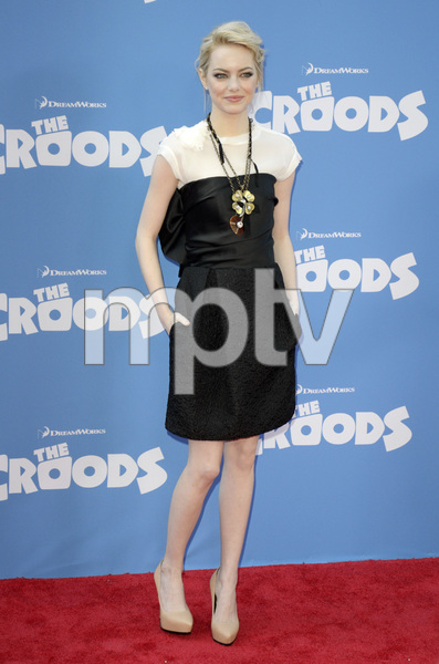 """""""The Croods"""" Premiere Emma Stone 3-10-2013 / AMC Loews Lincoln Square Theater / New York NY / Dreamworks / Photo by Eric Reichbaum - Image 24266_172"""
