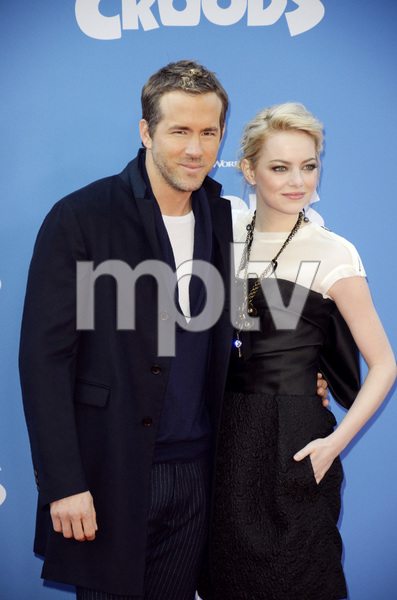 """""""The Croods"""" Premiere Ryan Reynolds, Emma Stone 3-10-2013 / AMC Loews Lincoln Square Theater / New York NY / Dreamworks / Photo by Eric Reichbaum - Image 24266_196"""
