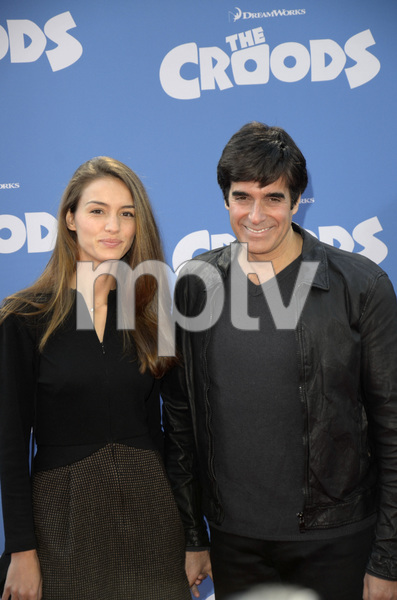 """""""The Croods"""" Premiere Chloe Gosselin, David Copperfield 3-10-2013 / AMC Loews Lincoln Square Theater / New York NY / Dreamworks / Photo by Eric Reichbaum - Image 24266_19"""