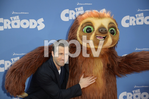 """""""The Croods"""" Premiere Ryan Reynolds 3-10-2013 / AMC Loews Lincoln Square Theater / New York NY / Dreamworks / Photo by Eric Reichbaum - Image 24266_208"""