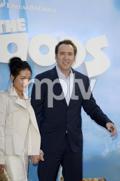 """""""The Croods"""" Premiere Alice Kim, Nicolas Cage 3-10-2013 / AMC Loews Lincoln Square Theater / New York NY / Dreamworks / Photo by Eric Reichbaum - Image 24266_25"""