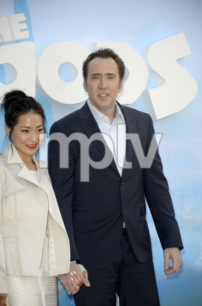 """""""The Croods"""" Premiere Alice Kim, Nicolas Cage 3-10-2013 / AMC Loews Lincoln Square Theater / New York NY / Dreamworks / Photo by Eric Reichbaum - Image 24266_29"""