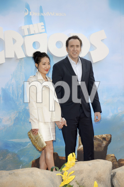 """The Croods"" Premiere Alice Kim, Nicolas Cage 3-10-2013 / AMC Loews Lincoln Square Theater / New York NY / Dreamworks / Photo by Eric Reichbaum - Image 24266_32"