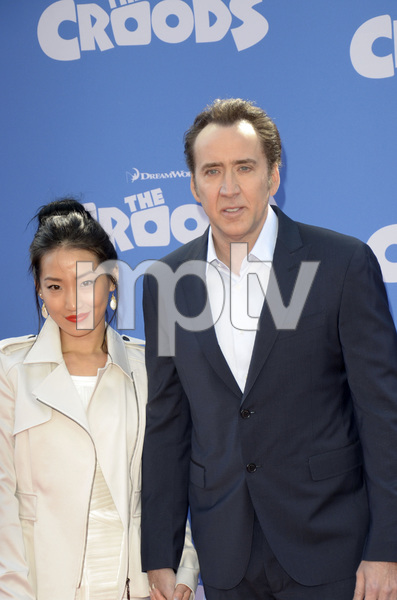 """The Croods"" Premiere Alice Kim, Nicolas Cage 3-10-2013 / AMC Loews Lincoln Square Theater / New York NY / Dreamworks / Photo by Eric Reichbaum - Image 24266_35"