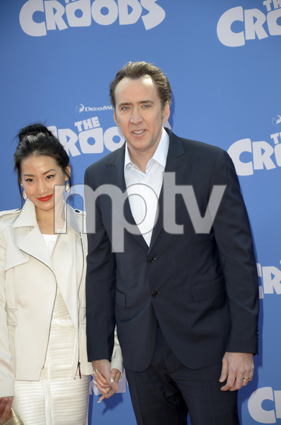 """""""The Croods"""" Premiere Alice Kim, Nicolas Cage 3-10-2013 / AMC Loews Lincoln Square Theater / New York NY / Dreamworks / Photo by Eric Reichbaum - Image 24266_37"""