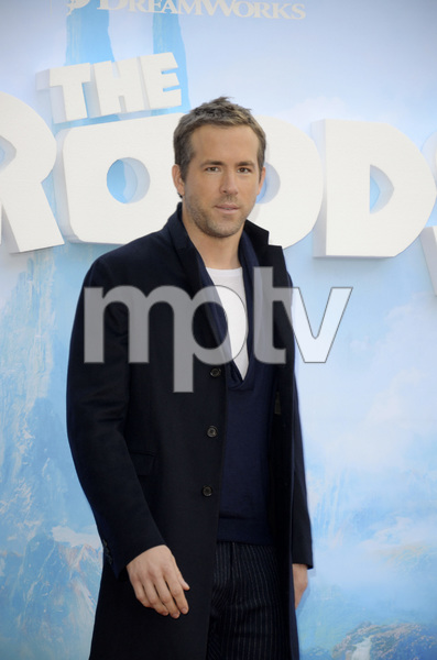 """The Croods"" Premiere Ryan Reynolds 3-10-2013 / AMC Loews Lincoln Square Theater / New York NY / Dreamworks / Photo by Eric Reichbaum - Image 24266_49"