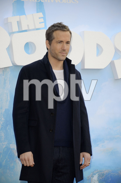 """The Croods"" Premiere Ryan Reynolds 3-10-2013 / AMC Loews Lincoln Square Theater / New York NY / Dreamworks / Photo by Eric Reichbaum - Image 24266_54"