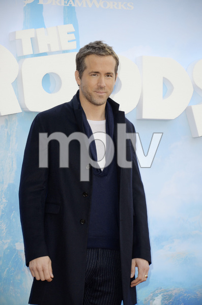 """The Croods"" Premiere Ryan Reynolds 3-10-2013 / AMC Loews Lincoln Square Theater / New York NY / Dreamworks / Photo by Eric Reichbaum - Image 24266_57"