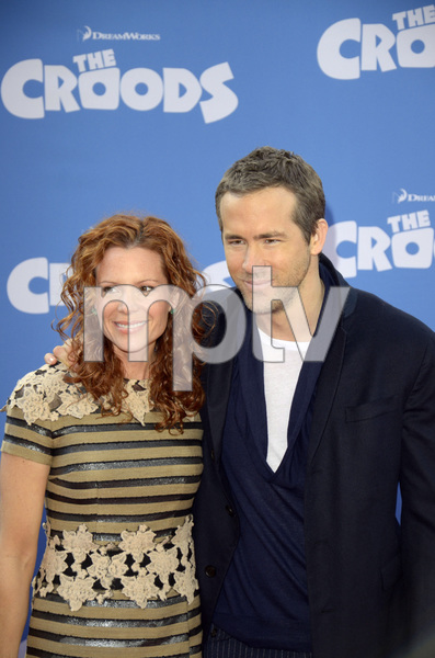 """The Croods"" Premiere Robyn Lively, Ryan Reynolds 3-10-2013 / AMC Loews Lincoln Square Theater / New York NY / Dreamworks / Photo by Eric Reichbaum - Image 24266_81"