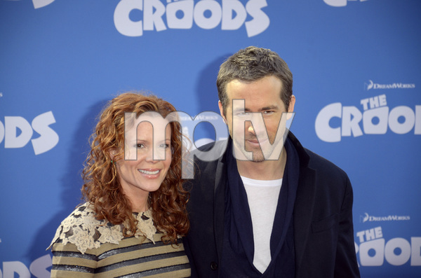 """""""The Croods"""" Premiere Robyn Lively, Ryan Reynolds 3-10-2013 / AMC Loews Lincoln Square Theater / New York NY / Dreamworks / Photo by Eric Reichbaum - Image 24266_84"""