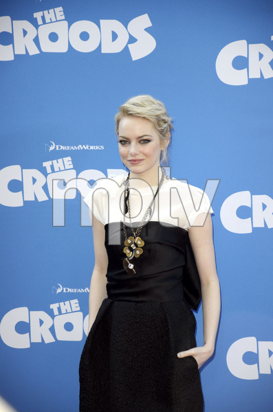 """""""The Croods"""" Premiere Emma Stone 3-10-2013 / AMC Loews Lincoln Square Theater / New York NY / Dreamworks / Photo by Eric Reichbaum - Image 24266_85"""