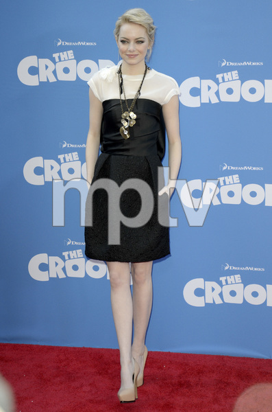 """The Croods"" Premiere Emma Stone 3-10-2013 / AMC Loews Lincoln Square Theater / New York NY / Dreamworks / Photo by Eric Reichbaum - Image 24266_87"