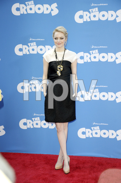 """""""The Croods"""" Premiere Emma Stone 3-10-2013 / AMC Loews Lincoln Square Theater / New York NY / Dreamworks / Photo by Eric Reichbaum - Image 24266_89"""
