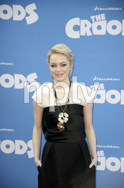 """""""The Croods"""" Premiere Emma Stone 3-10-2013 / AMC Loews Lincoln Square Theater / New York NY / Dreamworks / Photo by Eric Reichbaum - Image 24266_95"""