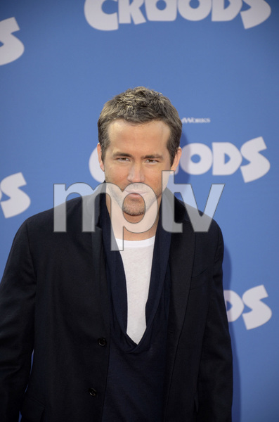"""""""The Croods"""" Premiere Ryan Reynolds 3-10-2013 / AMC Loews Lincoln Square Theater / New York NY / Dreamworks / Photo by Eric Reichbaum - Image 24266_99"""