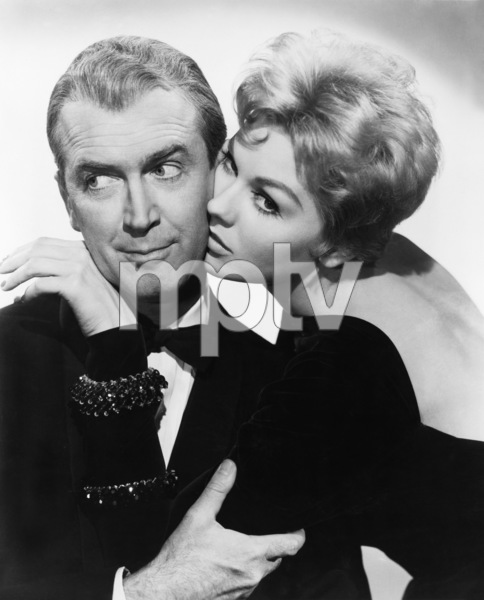 "James Stewart and Kim Novak in ""Bell Book and Candle""  1958 Columbia ** I.V. - Image 24287_0016"
