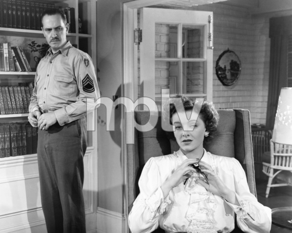 "Fredric March and Myrna Loy in ""The Best Years of Our Lives"" 1946 RKO Radio Pictures** I.V. - Image 24287_0022"