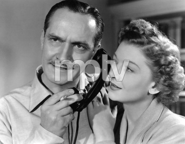 """Fredric March and Myrna Loy in """"The Best Years of Our Lives"""" 1946 RKO Radio Pictures** I.V. - Image 24287_0027"""