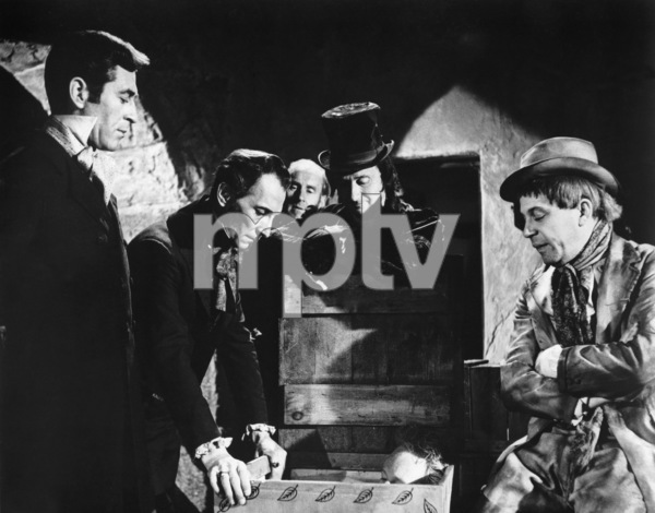 """""""The Flesh and the Fiends"""" (aka """"Mania"""")  Dermot Walsh, Peter Cushing, Donald Pleasence, George Rose1960 Triad Productions** I.V. - Image 24287_0111"""