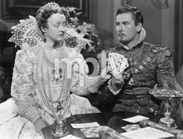 """The Private Lives of Elizabeth and Essex""Bette Davis, Errol Flynn1939 Warner Brothers** I.V. - Image 24287_0147"