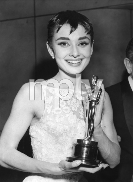 """The 26th Annual Academy Awards""Audrey Hepburn 1954** I.V. - Image 24287_0186"