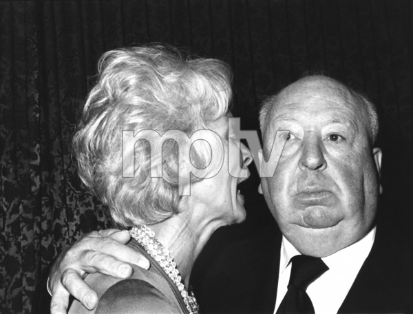 Janet Leigh and Alfred Hitchcock circa late 1970s ** I.V. - Image 24287_0192