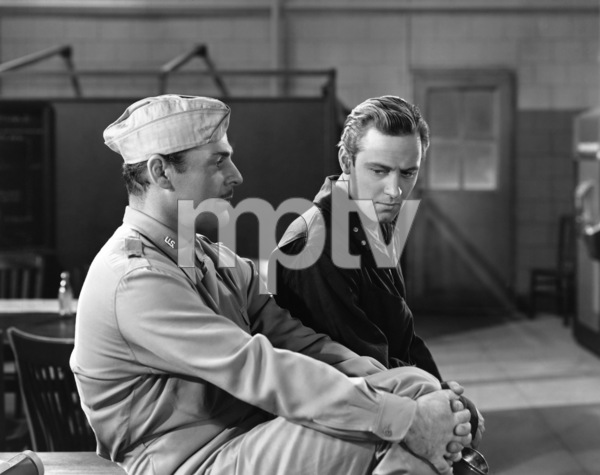 """Brian Donlevy and William Holden in """"I Wanted Wings"""" 1941 Paramount** I.V. - Image 24287_0194"""
