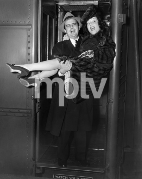 Newlyweds Ethel Merman and William Smith 1940** I.V. - Image 24287_0261