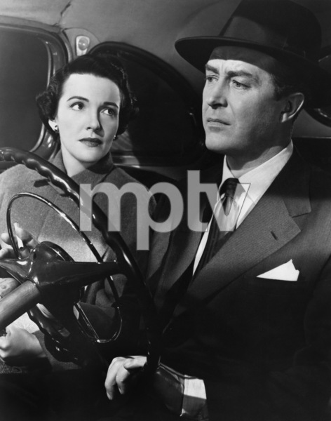 "Nancy Davis and Ray Milland in ""Night Into Morning"" 1951 MGM ** I.V. - Image 24287_0273"