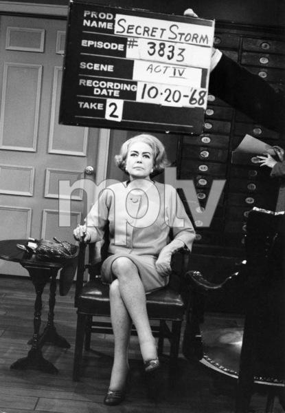 """""""The Secret Storm"""" Joan Crawford 1968 ** I.V. - Image 24287_0303"""