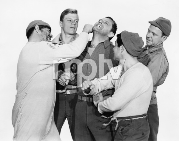 "Robert Strauss and William Holden in ""Stalag 17"" 1953 Paramount** I.V. - Image 24287_0308"