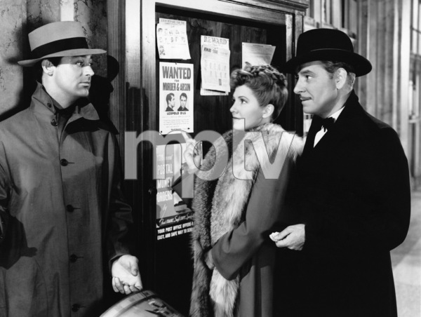 "Cary Grant, Jean Arthur and Ronald Colman in ""The Talk of the Town"" 1942 Columbia** I.V. - Image 24287_0322"