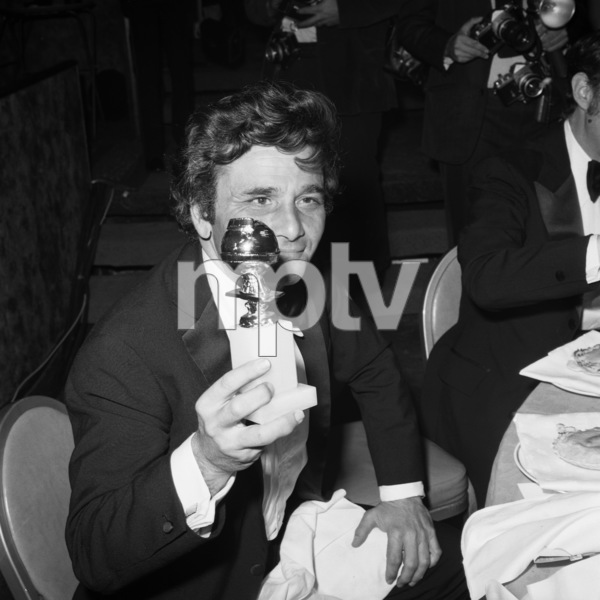 Peter Falk at the Golden Globe Awards1973** B.D.M. - Image 24293_0074