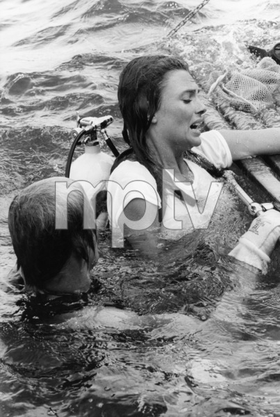 """Nick Nolte and Jacqueline Bisset in """"The Deep""""1977 Columbia** B.D.M. - Image 24293_0143"""