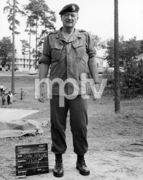"John Wayne in ""The Green Berets""1968 Warner Brothers** B.D.M. - Image 24293_0146"