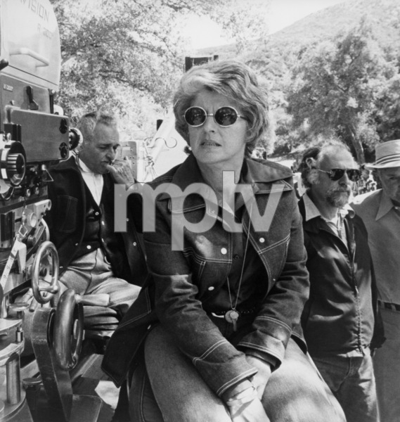 """Cinematographer Philip H. Lathrop, choreographer Onna White and director Gene Saks on the set of """"Mame""""1974 Warner Brothers** B.D.M. - Image 24293_0174"""