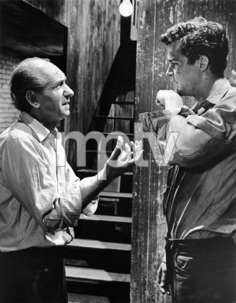 "Ned Glass and Richard Beymer in ""West Side Story""1961 UA** B.D.M. - Image 24293_0457"
