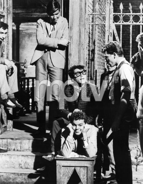 """West Side Story""Bert Michaels, Tucker Smith, Tony Mordente, Russ Tamblyn, David Winters, David Bean, Susan Oakes, Harvey Hohnecker1961 UA** B.D.M. - Image 24293_0458"