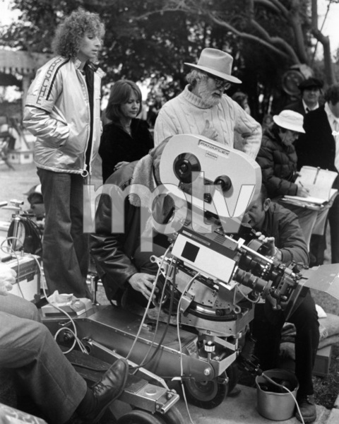 "Barbra Streisand, Joanne Linville and Frank Pierson on the set of ""A Star Is Born""1976 Warner Bros.** B.D.M. - Image 24293_0479"
