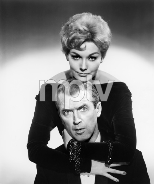 "James Stewart and Kim Novak in ""Bell, Book and Candle""1958 Columbia** B.D.M. - Image 24293_0482"
