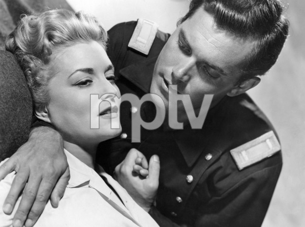 """Constance Towers and Jeffrey Hunter in """"Sergeant Rutledge""""1960 Warner Bros.** B.D.M. - Image 24293_0553"""