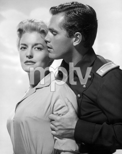 """Constance Towers and Jeffrey Hunter in """"Sergeant Rutledge""""1960 Warner Bros.** B.D.M. - Image 24293_0554"""